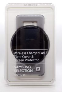 Wireless ChargerPad&ClearCover&ScreenProtector Samsung S8+ GradB