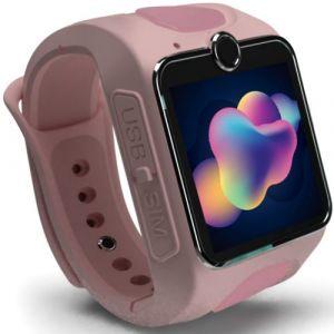 Smartwatch pentru copii MyKi Junior 3G cu apel video Roz grad C
