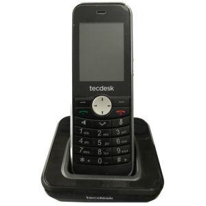 Telefon fix Teckdesk Connect 60 negru Grad A
