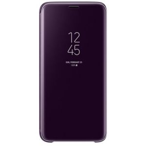 Clear view standing cover Purple Samsung Galaxy S9 Grad B