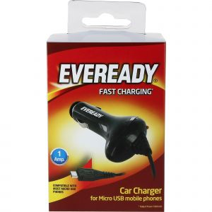 Eveready incarcator auto MicroUSB 1A