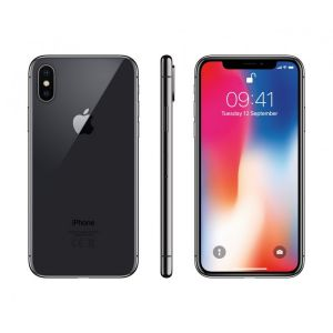 iPhone X  256GB Space Grey Grad A+Carcasa silicon iPhone X CADOU
