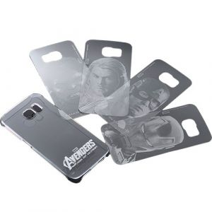 Carcasa transparenta Samsung Galaxy S6 Avengers Grad B