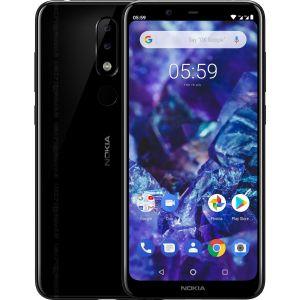 Nokia 5.1 Plus Dual SIM Negru Grad A