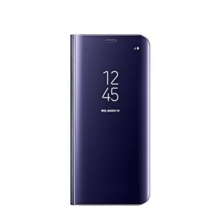 Clear view standing cover Samsung Galaxy S8+ Purple Grad B