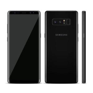 Samsung Galaxy Note 8 64GB Midnight Black Grad A + Husa Led view CADOU