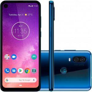 Motorola One Vision 128GB Dual SIM Saphire Gradient Grad A