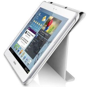 Book Cover Samsung Galaxy Tab 2 10.1 inci White Grad B