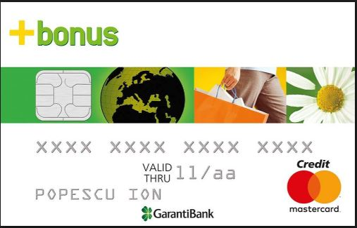 Garanti Bank Credit card