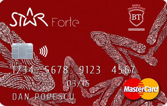 Star BT Credit card
